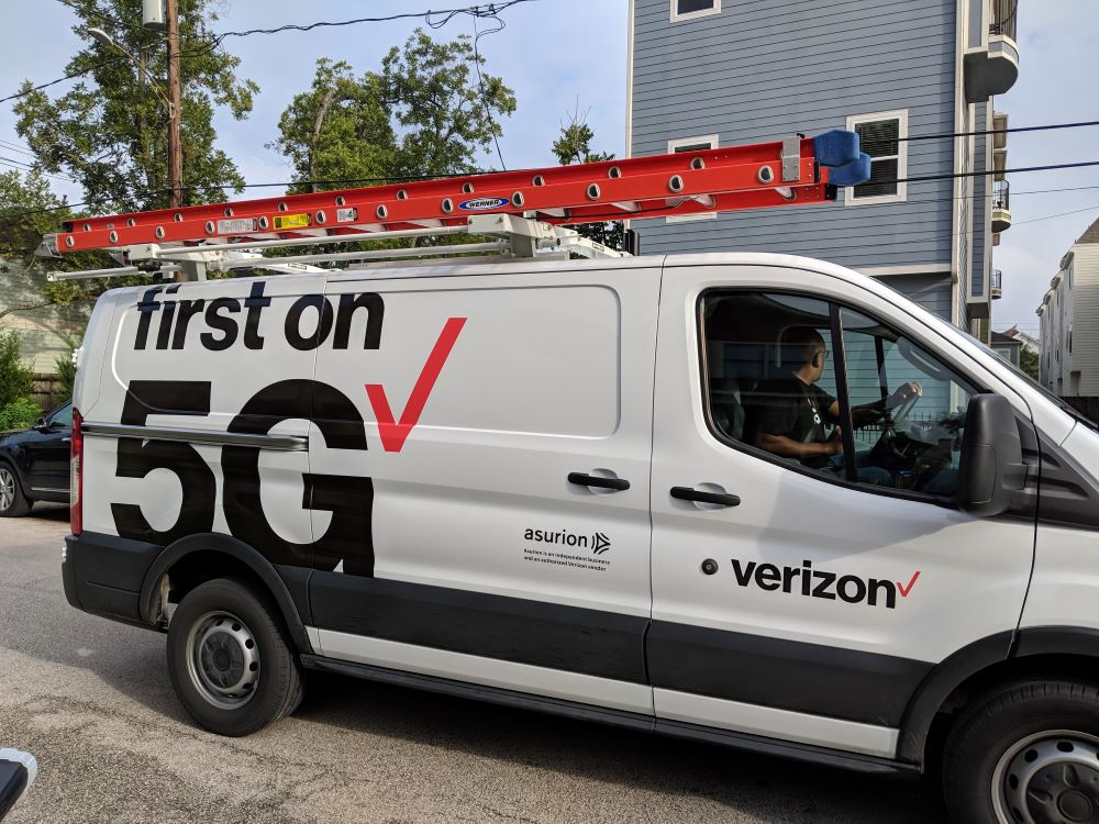 Verizon and 5G.